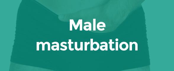 Male masturbation
